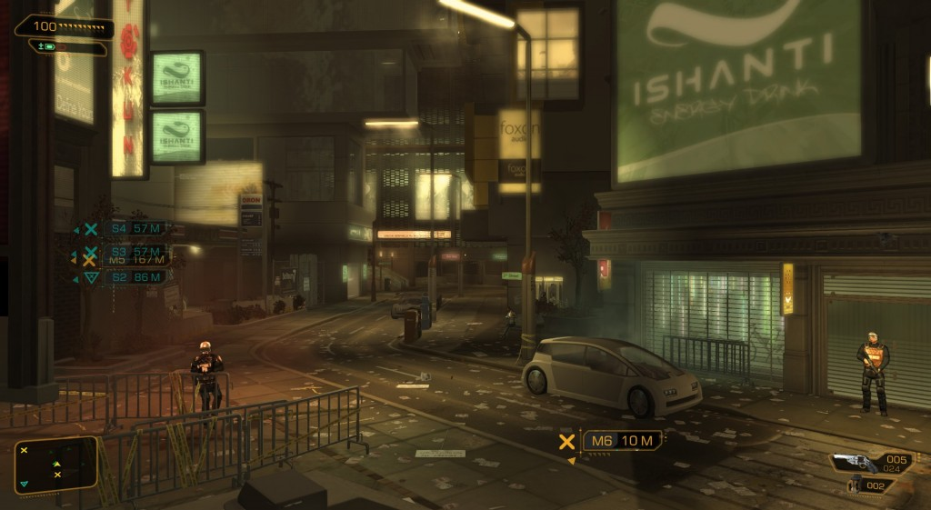 The grrrritty future: Detroit in 2027, from Deus Ex: Human Revolution