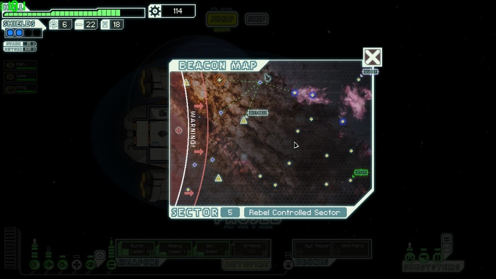 One does not simply shilly-shally to the sector exit!
