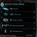 XCOM Battle 11 Operation Empty Blade loot cropped