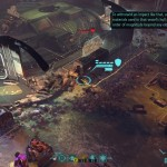 XCOM Battle 2 Blind Thunder UFO and wounded outsider