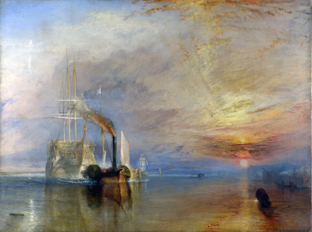 """The Fighting Temeraire"", JMW Turner"